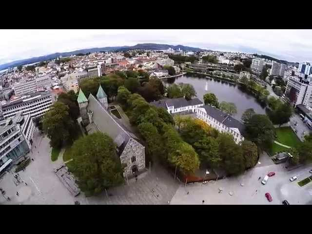 2015 10 09 Stavanger Harbor and Cathedral   HD 1080