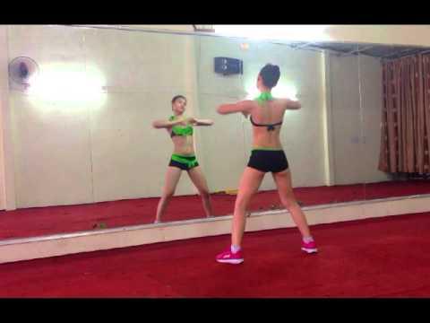Thể dục thẩm mỹ - Bài giật 7p - Nhạc zumba.