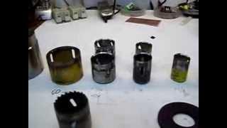 Sacabocados hechos de herramientas de corte reciclados
