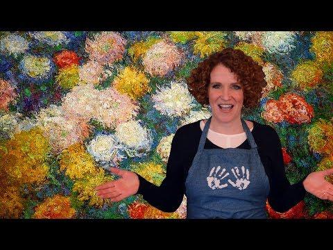 Monet's Blooming Art