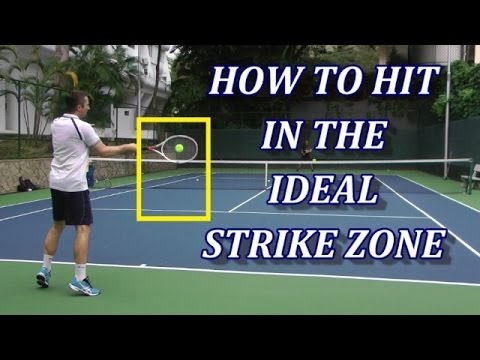 Thumbnail: How To Hit Tennis Strokes In The Ideal Strike Zone And Why