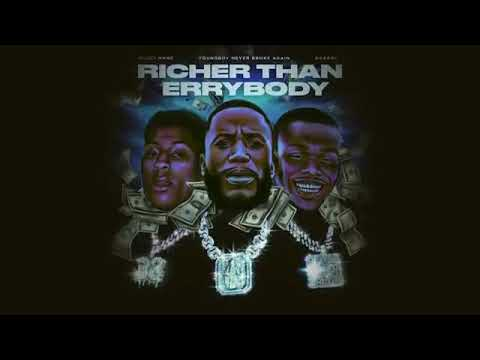 Gucci Mane – Richer Than Everybody Feat. NBA YoungBoy, DaBaby (Woptober 2)