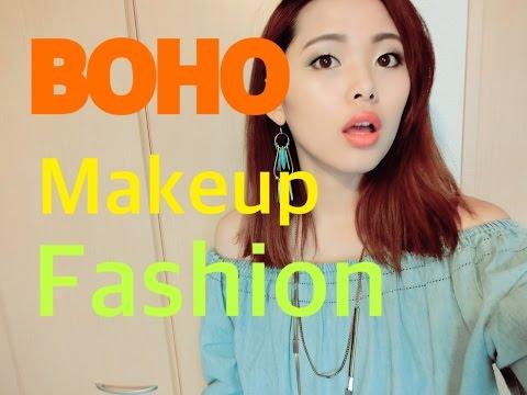 【一重】ちょいボヘメイク、ファッション~BOHO makeup&fashion~