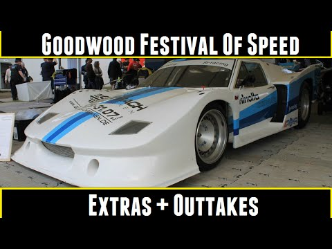 Goodwood Festival Of Speed Extras + Outtakes