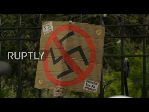 LIVE: Protesters take to the streets of London as Britain Fi