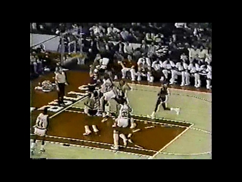 Granville Waiters Two-Handed Block on Michael Jordan (1985)