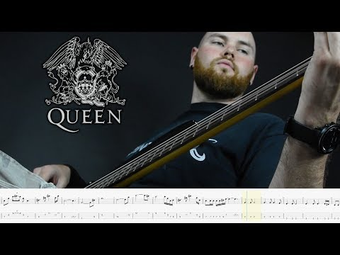 Queen - The show must go on (bass cover)