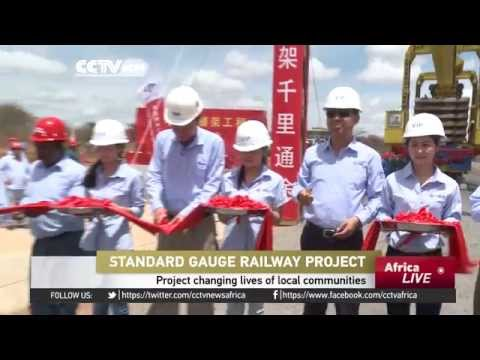 Standard Gauge Railway Project changing lives of Kenyan local communities