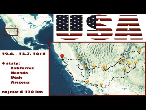 All trips in USA WEST COAST ROAD TRIP  2016 / Lucid Dreams