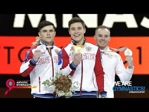 2019 Artistic Worlds, Stuttgart (GER) –Men's All-around Final, Highlights - We Are Gymnastics !