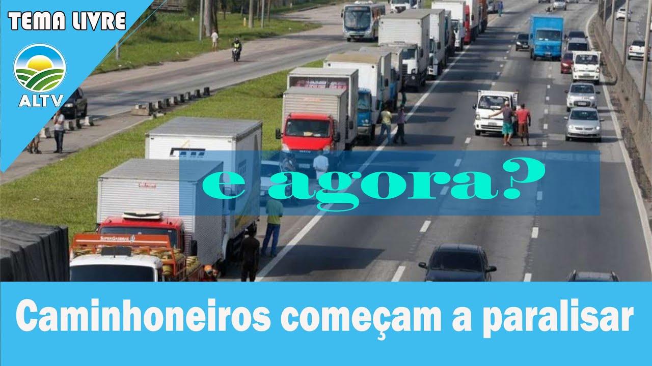 URGENTE! CAMINHONEIROS PARAM TUDO DE NOVO