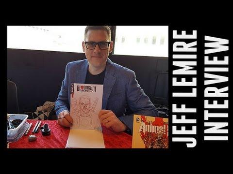 Seriefestivalen 2016: Jeff Lemire Interview - Kulturhuset Stockholm