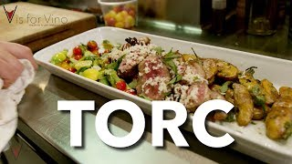 "TORC Restaurant, Napa CA - ""V is for Vino"" wine show"