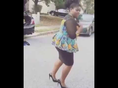 A CONTEMPORARY AFRICAN DANCE BY THIS  WOMAN GOES VIRAL