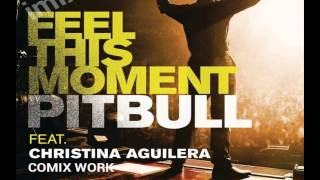 Feel This Moment ft. Christina Aguilera (comix work)