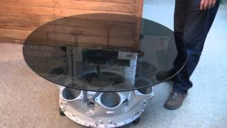 Rolls Royce Jet Engine Coffee Table