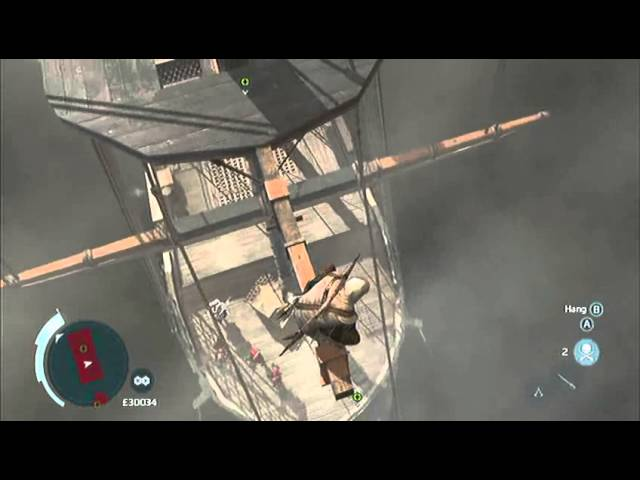 Assassins Creed 3 AC3, remain undetected while on ships, air assassinate grenadier