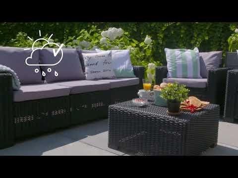 Мебель из искусственного ротанга California 3 Set | Интернет-магазин Vobox