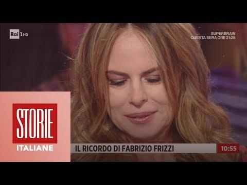 Paola Perego: 'Superbrain' e il ricordo di Fabrizio Frizzi - Storie italiane 11/01/2019