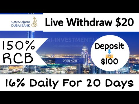 Dubai-Invest - Rivew Deposit + Live Withdraw Proof $20 - Full Long Term + High Profitable Project