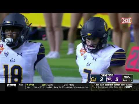 TCU vs California Football Highlights