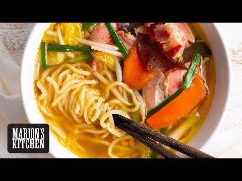 The Easiest Japanese Noodle Soup – Marion's Kitchen
