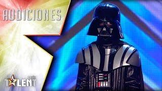Un Darth Vader oculto y muy… impredecible | Audiciones 3 | Got Talent España 2017