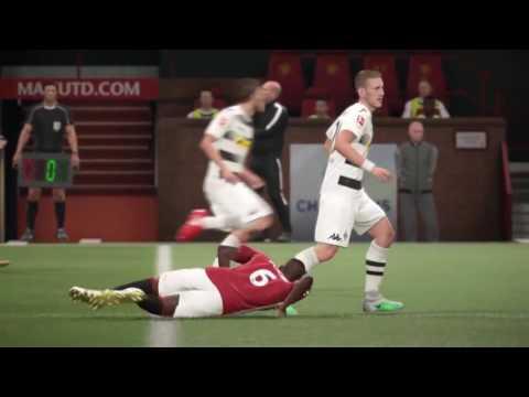 """FIFA 17 - Paul Pogba """"Joe Theismann"""" Injury"""