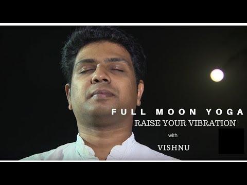 FULL MOON YOGA DOHA WITH VISHNU SWASTHI YOGA l Swasthi Yoga Studio Doha