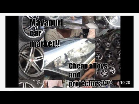 don't buy cheap alloy wheels from mayapuri❌ | reality of mayapuri❗️| buy new on EMI💯 | vlog 9