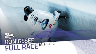 KÖnigssee | BMW IBSF World Cup 2019/2020 - 2-Man Bobsleigh Heat 2 | IBSF Official