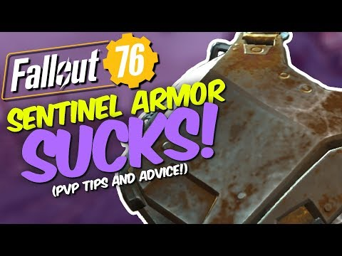 Fallout 76 PvP - Assassins Sentinel Armor SUCKS! - Heres why