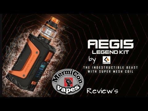 "Aegis legend kit Aero Tank by Geekvape ""Ελληνική Παρουσίαση"" ""Greek review"""