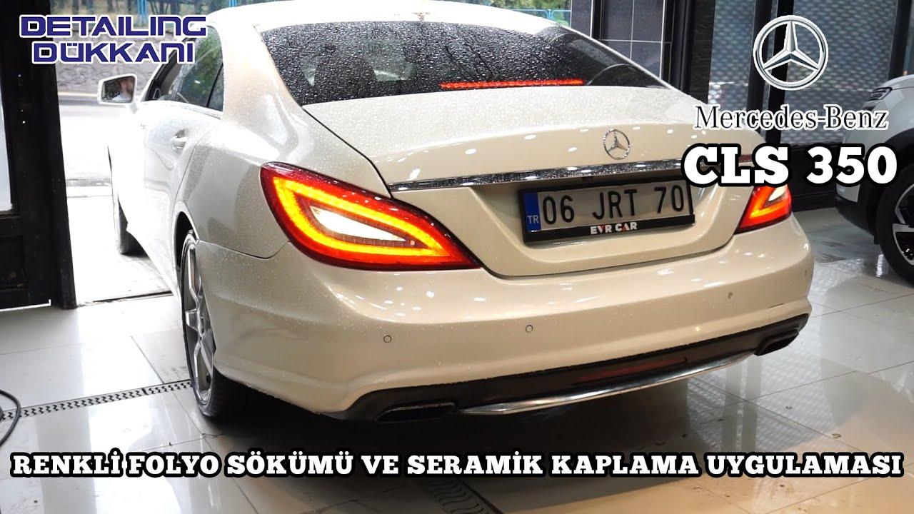 Mercedes CLS 350 Detailing Dükkanı'nda Yenilendi | Siyahtan Beyaza Dönüşüm! 👈👈