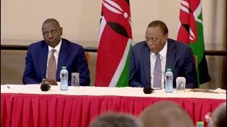 THE ORIGINAL FULL CLIP OF UHURU MAKING FUNNY FACE