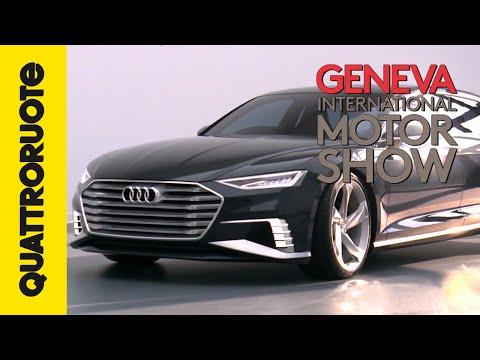 Audi Prologue Avant, lusso formato famiglia   Salone di Ginevra 2015