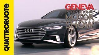 Audi Prologue Avant, lusso formato famiglia | Salone di Ginevra 2015