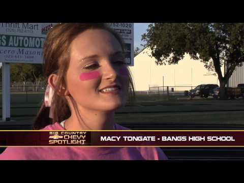 Early & Bangs High School Pink-Out - Big Country Chevy Spotlight