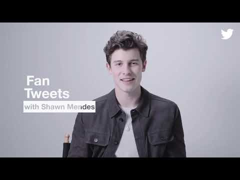Shawn Mendes reading Tweets from fans ♥️