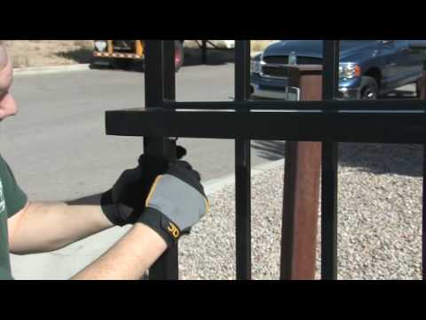Amazing Gates Sliding Gate System Installation Youtube