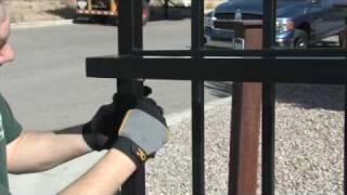 Amazing Gates Sliding Gate System Installation