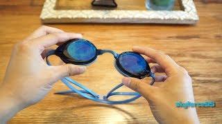 Speedo Vanquisher 2.0 Mirrored Swim Goggles Unboxing & Review