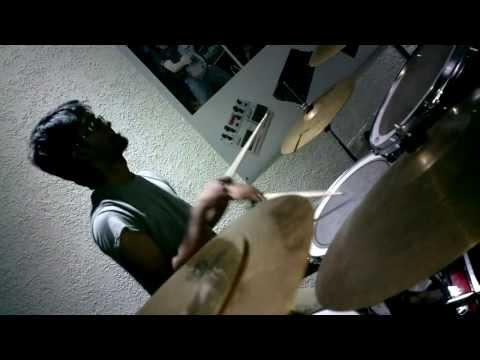 3/4th Gravity - My Way Drum Cam @ Celestial Music Store, Bangalore