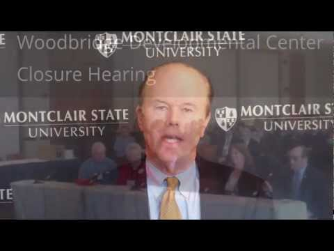 Assemblyman Diegnan @ Woodbridge Developmental Center Closure Hearing