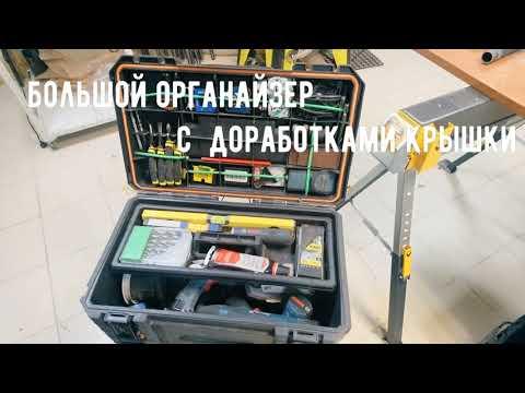 Ящики для хранения и переноски строительного инструмента от Magnusson
