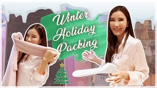 PACKING FOR MY WINTER HOLIDAY! | JAMIE CHUA