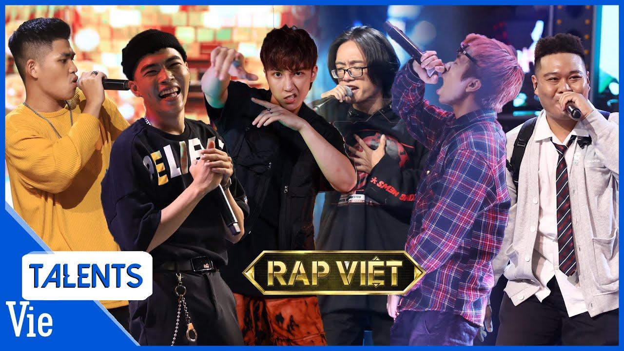7 TIẾT MỤC RAP VIỆT #1 | Tez, MAC Junior, Key, Hydra, Thành Draw, Yuno BigBoi x Bộ 6 quyền lực