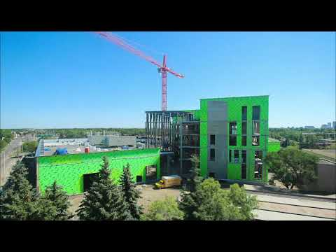 Productivity And Innovation Centre: Construction Time Lapse
