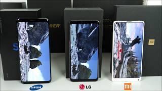 Xiaomi Mi Mix 2s  VS. LG G7 ThinQ VS. Galaxy S9 Plus - Benchmark War!