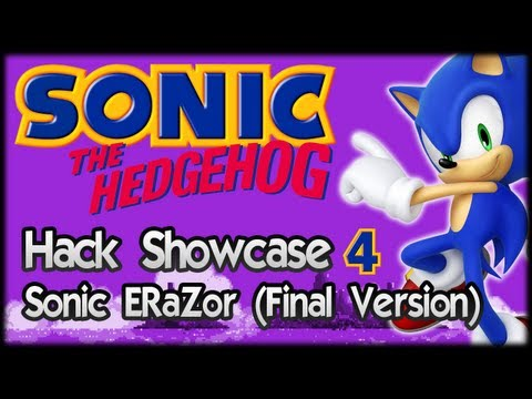Sonic Hack Showcase 4 : Sonic ERaZor (Final Release)